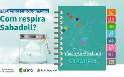Clen@air school: mapificació de la qualitat de l'aire