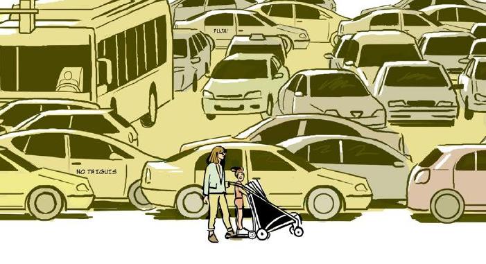 Còmic sobre contaminació atmosfèrica