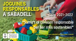 """2a edició """"Joguines responsables a Sabadell"""""""